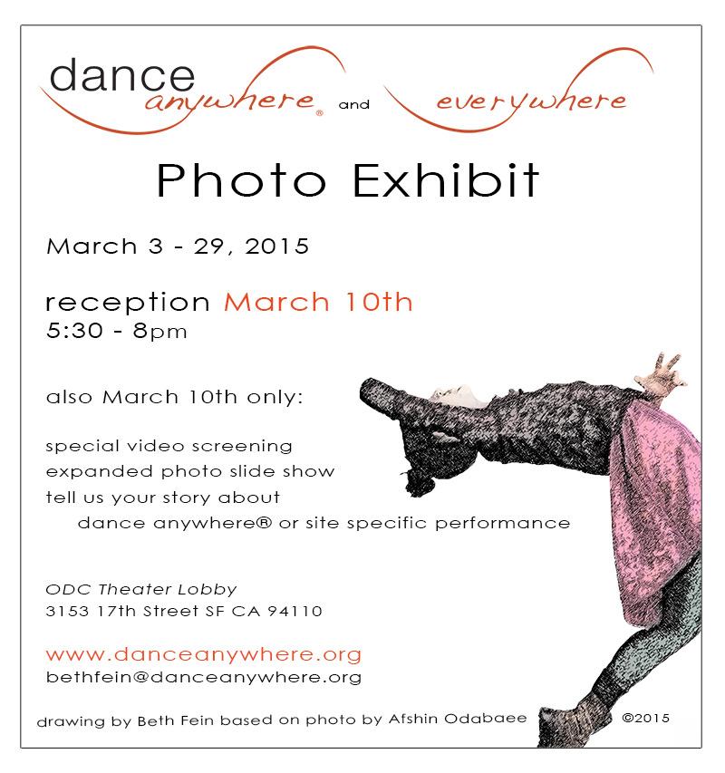 opening dance anywhere® photo exhibit